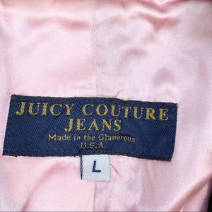 Juicy Couture Jackets & Coats - Juicy Couture Black Button Collar Corduroy Blazer